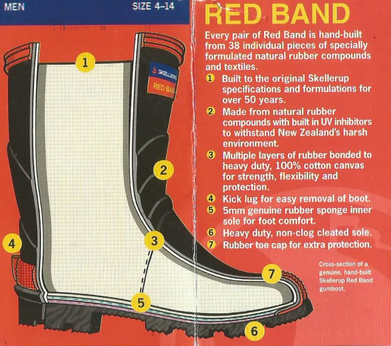 368f5e4eb3e Red band mens knee wellington boot